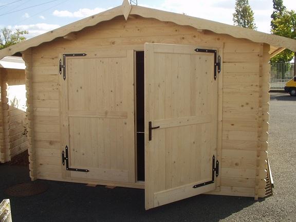 Garage Toulouse 20m² en bois en kit sans permis de construire