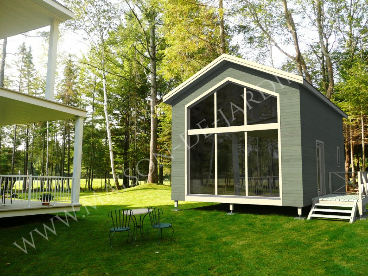 Maison de jardin atlantique en bois en kit - Maison de jardin kit mulhouse ...