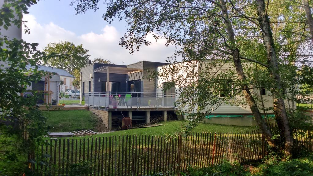Photo Maison ossature bois Construction maison bois contemporaine sur