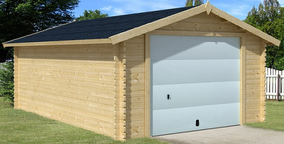 Garage en bois for Garage en bois 20m2