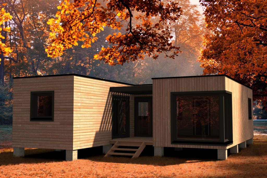 Habitats modulaires # Habitat Modulaire Bois
