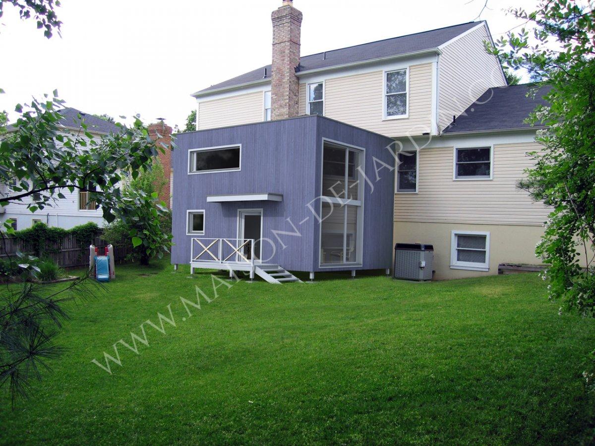maison de jardin m diterran e en bois en kit. Black Bedroom Furniture Sets. Home Design Ideas