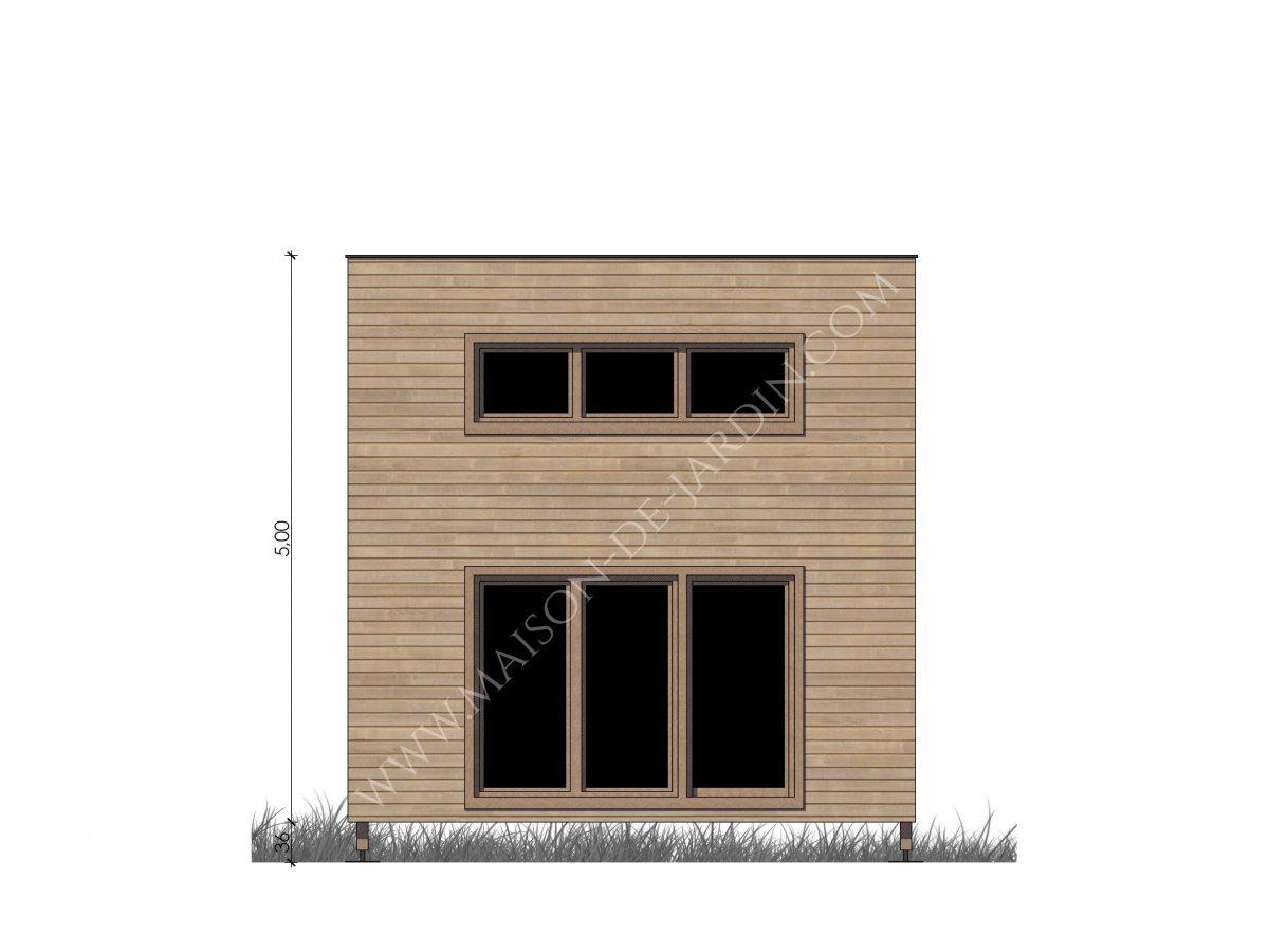 maison de jardin montpellier en bois en kit. Black Bedroom Furniture Sets. Home Design Ideas