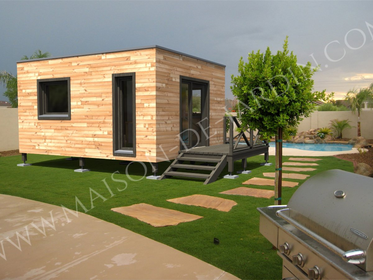 Maison de jardin val d 39 oise en bois en kit sans permis de construire for Chalet de jardin bretagne