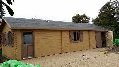Garage en bois - Garage ossature bois prix ...