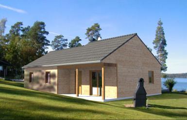 Photo Maison en bois familiale Optimale 3
