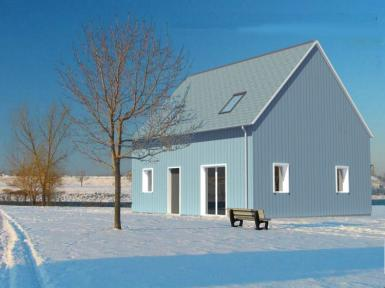 photo maison ossature bois optimale 10. Black Bedroom Furniture Sets. Home Design Ideas