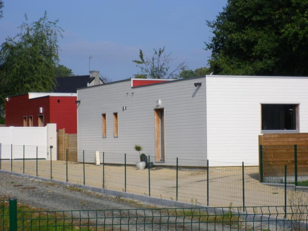 Maisons bois avec bardage couleur # Couleur Bardage Bois