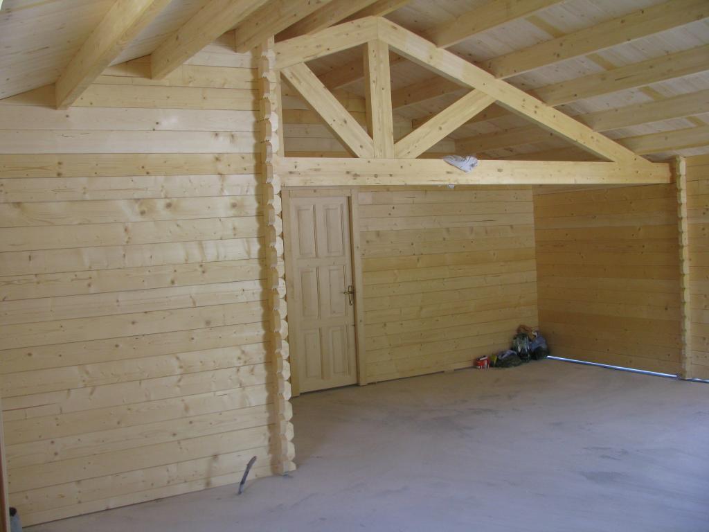 Maison bois de 73 m avec une terrasse couverte de 14 m for Chalet en bois solde