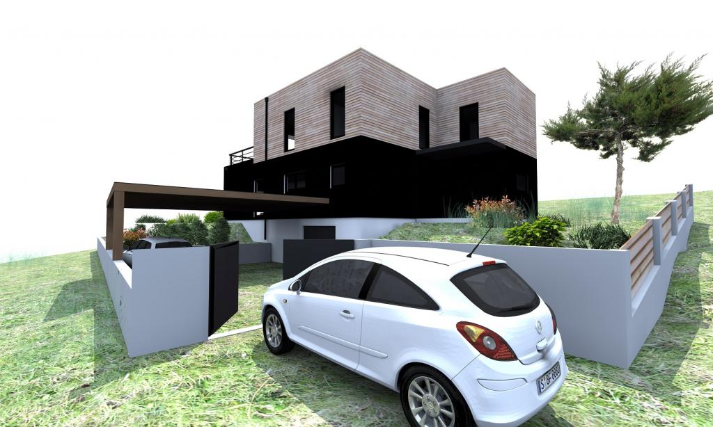 maison bois lyon obtenez des id es de design int ressantes en utilisant du bois. Black Bedroom Furniture Sets. Home Design Ideas