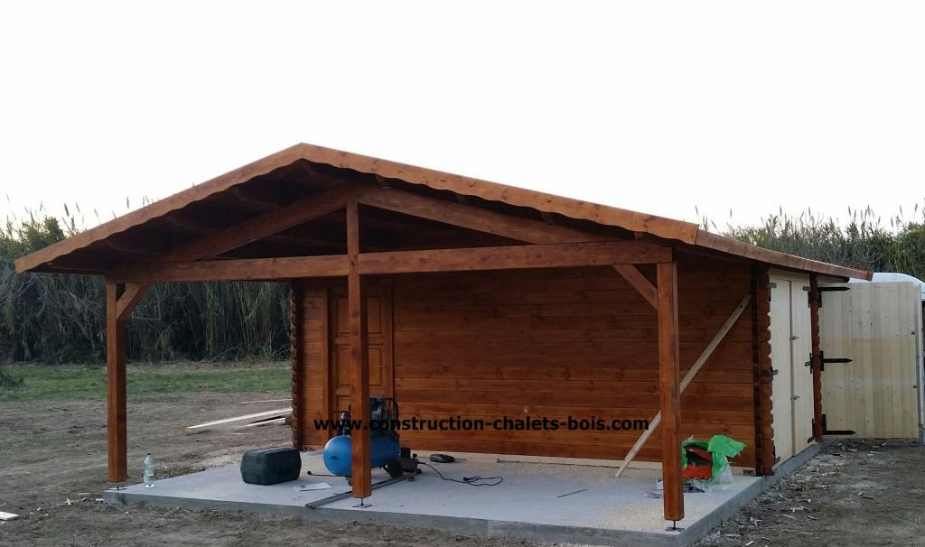 Garage En Bois En Kit : Garage Mezzanine Design