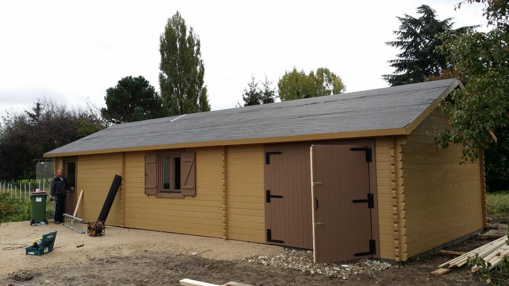 Garage en bois for Garage bois kit