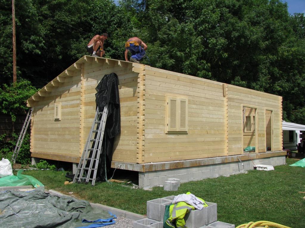 Maison bois de 70m2 en bois en kit ~ Petite Maison En Bois En Kit