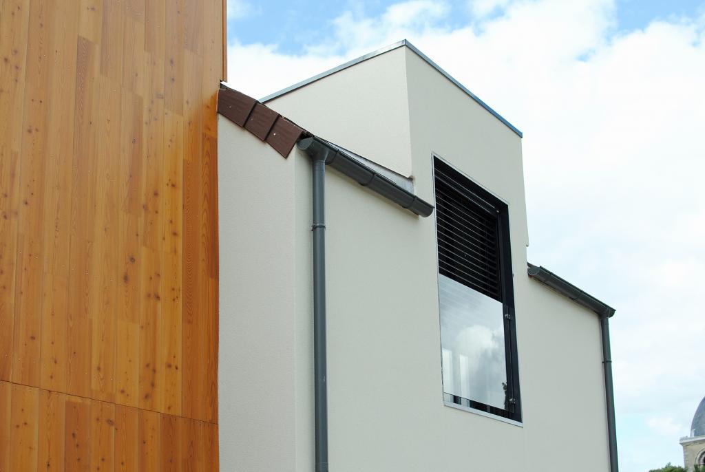 Maison Ossature Bois Design - Maison ossature bois Maison ossature bois designà Paris, Yvelines 78 en bois en kit