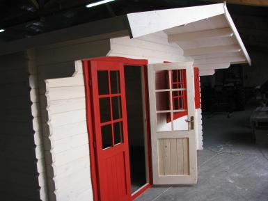 Abri de jardin Lyon - 20m²-chalet-jardin en bois en kit ...