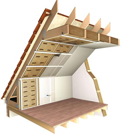 laine min rale sp cialement con u pour la maison ossature bois. Black Bedroom Furniture Sets. Home Design Ideas