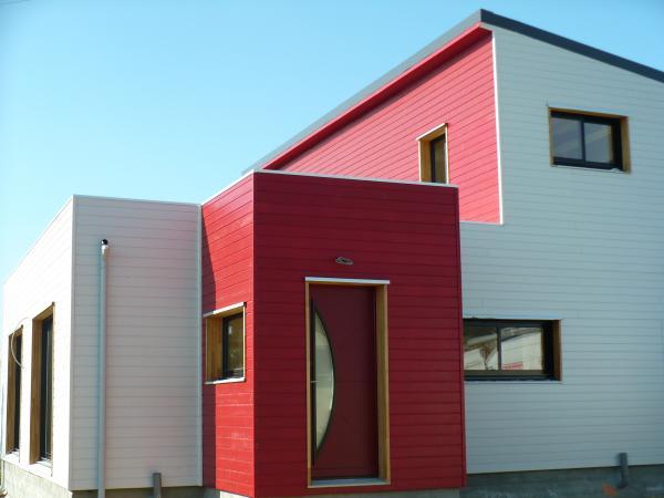 Entretien Bardage Bois Peint - Maison en ossature bois et rev u00eatements extérieurs