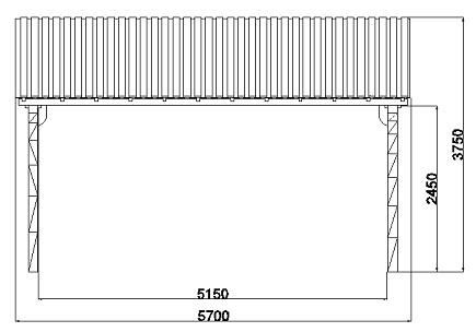 garage en bois. Black Bedroom Furniture Sets. Home Design Ideas