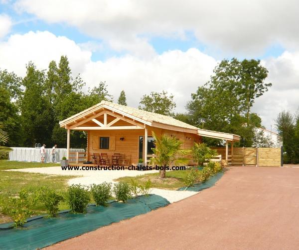 Construction Bois Kit : Celle Du Chalet Est De Plus En Plus Choisie Par Les Particuliers
