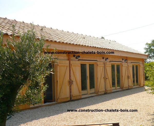 photo chalets en kit en bois du slider 3