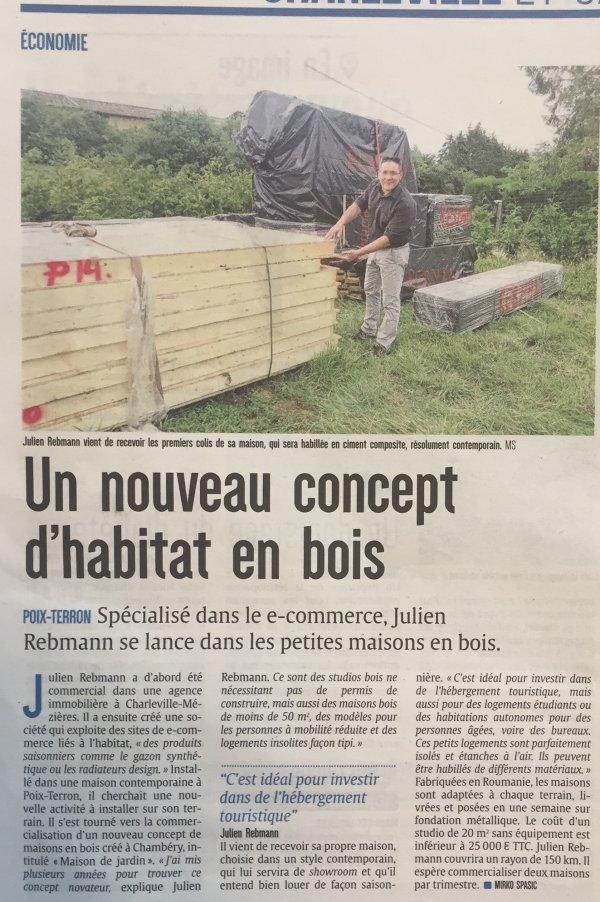 Photo Notre nouveau distributeur dans les Ardennes !