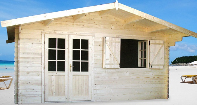 abri de jardin lyon 20m chalet jardin en bois en kit sans mezzanine. Black Bedroom Furniture Sets. Home Design Ideas