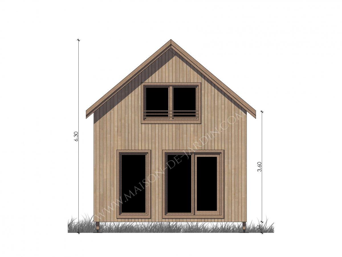 Studio de jardin avec ossature bois Lille 37 m² : 37900 ...