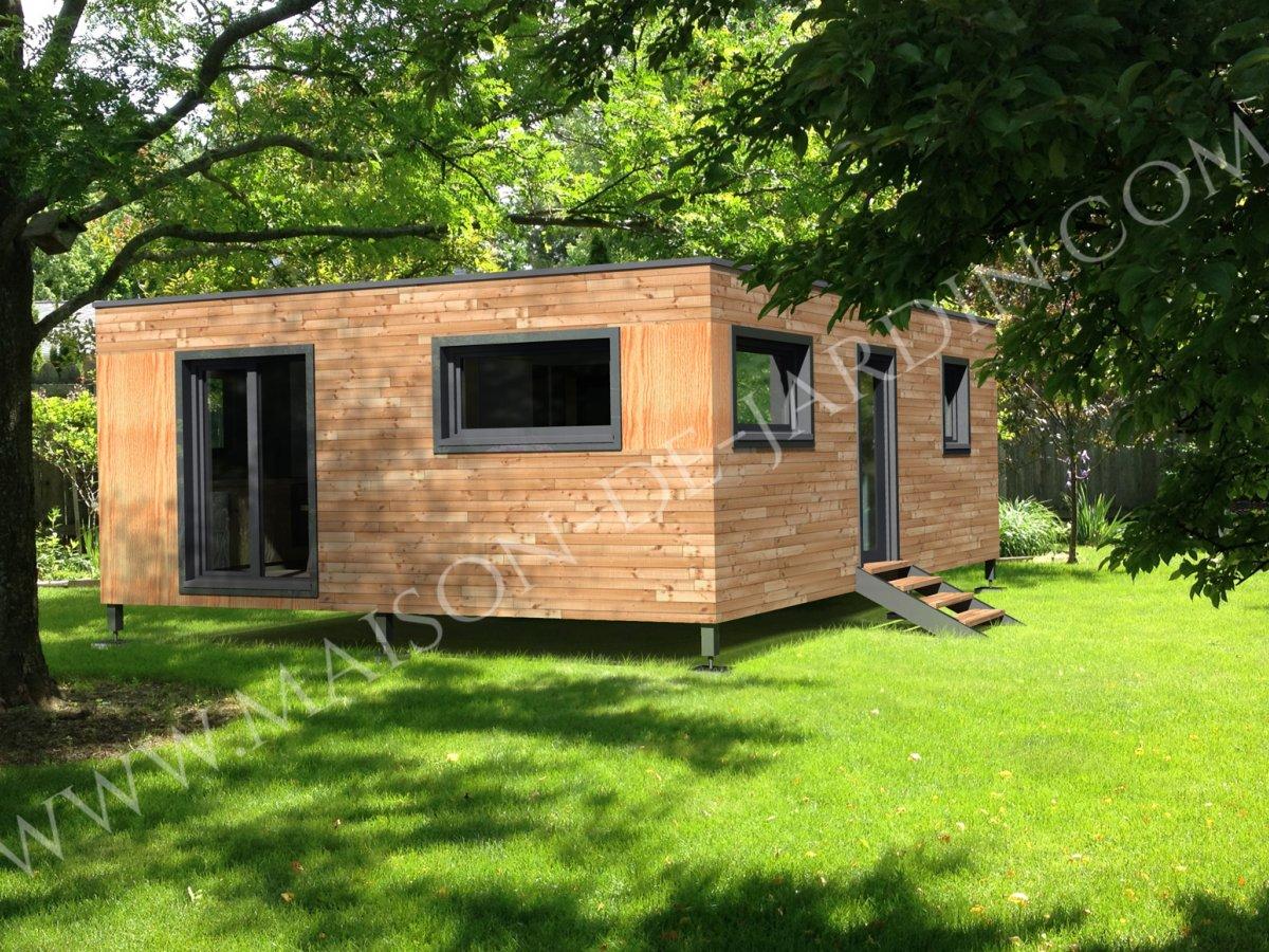 maison de jardin nice en bois en kit. Black Bedroom Furniture Sets. Home Design Ideas