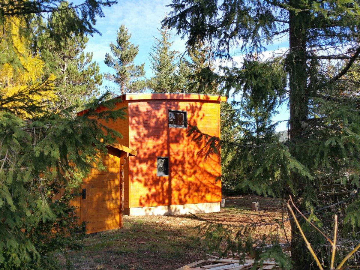 maison de jardin occitanie en bois en kit. Black Bedroom Furniture Sets. Home Design Ideas