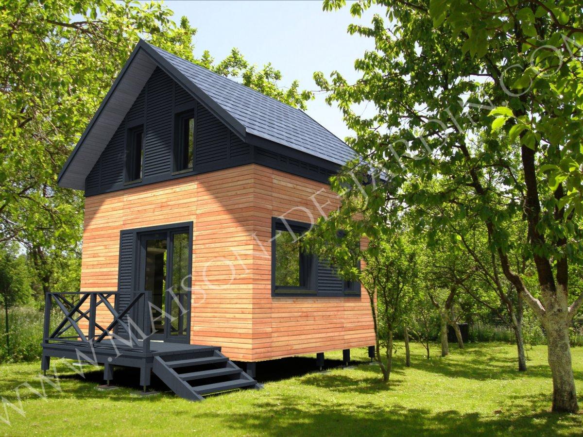 studio de jardin avec ossature bois pyr n es 37 m 33900 ttc livr mont cl en main. Black Bedroom Furniture Sets. Home Design Ideas