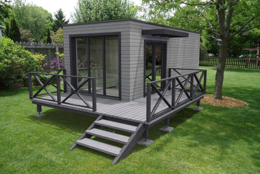 Studio de jardin sans permis de construire - Construction studio dans jardin ...