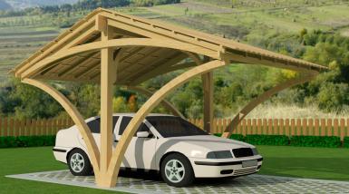 Garage en bois sans mezzanine for Garage ford val de marne