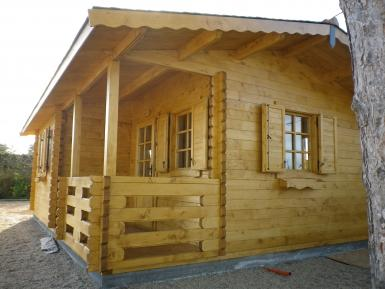 Photo Chalet Habitable de loisirs 40m2