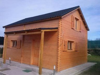 Photo de 35 m² avec étage
