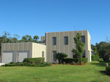 Photo Maison en bois moderne et modulable