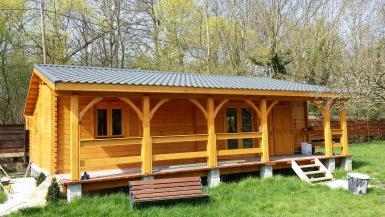 Maisons de jardin avec ossature bois cl en main for Amenagement petit jardin 70m2