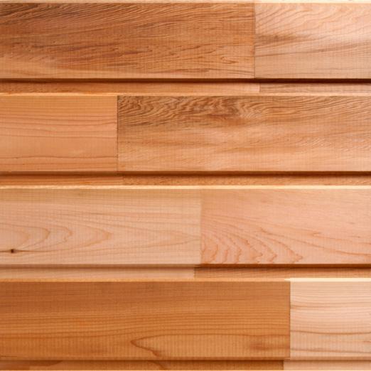 maison bois avec bardage en red cedar. Black Bedroom Furniture Sets. Home Design Ideas