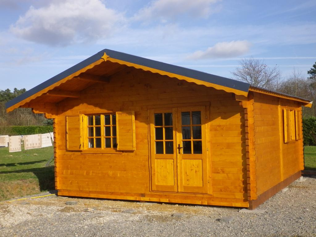 Chalet habitable annecy 30m en bois en kit for Chalet prix construction