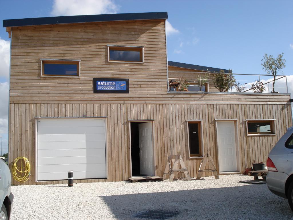 Maison ossature bois for Entreprise agrandissement maison 81
