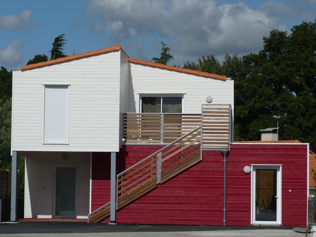Photo suppl mentaire maison ossature bois construction bois pour logements collectifs en r g - Fabrication maison ossature bois ...