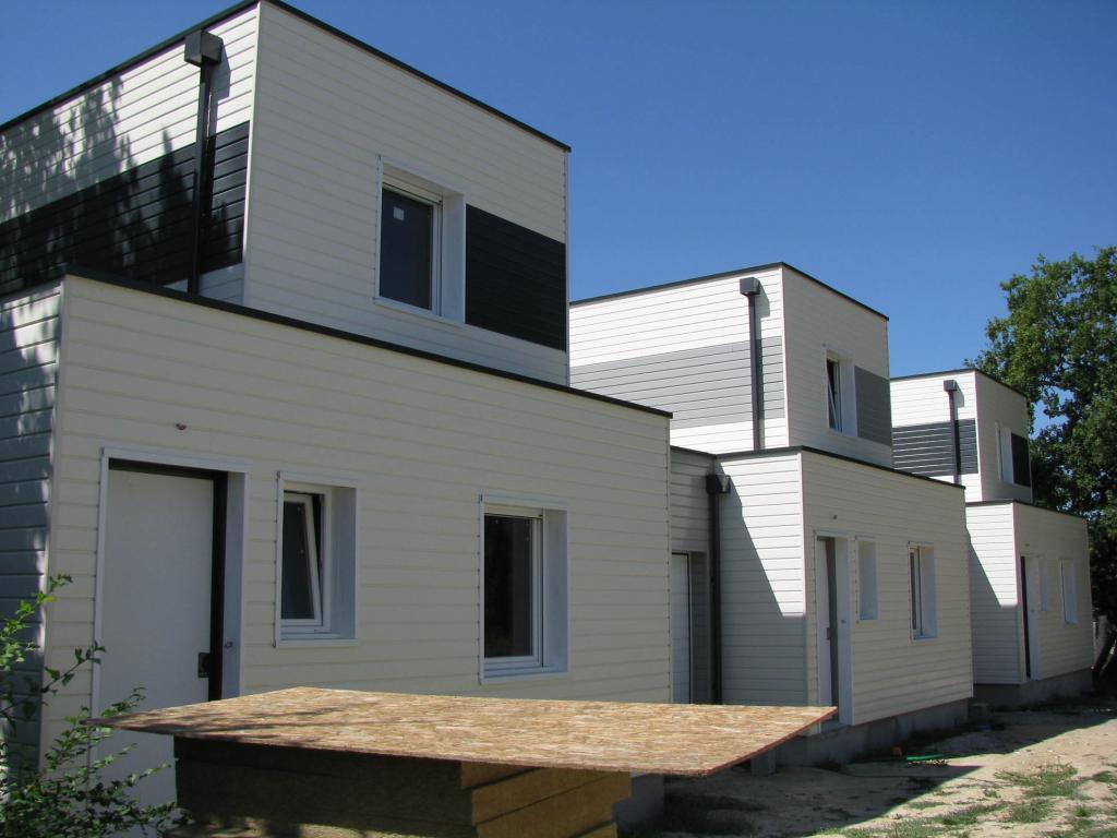 Maison ossature bois for Aide construction maison