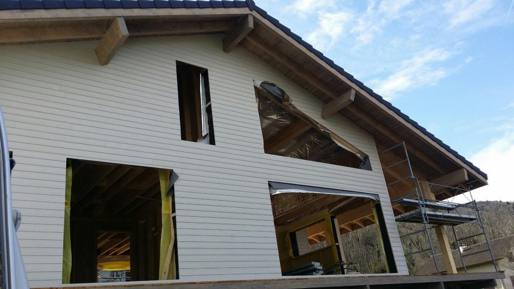 Construction Bois En Kit - Photo supplémentaire Maison ossature bois Rh u00f4ne Alpes