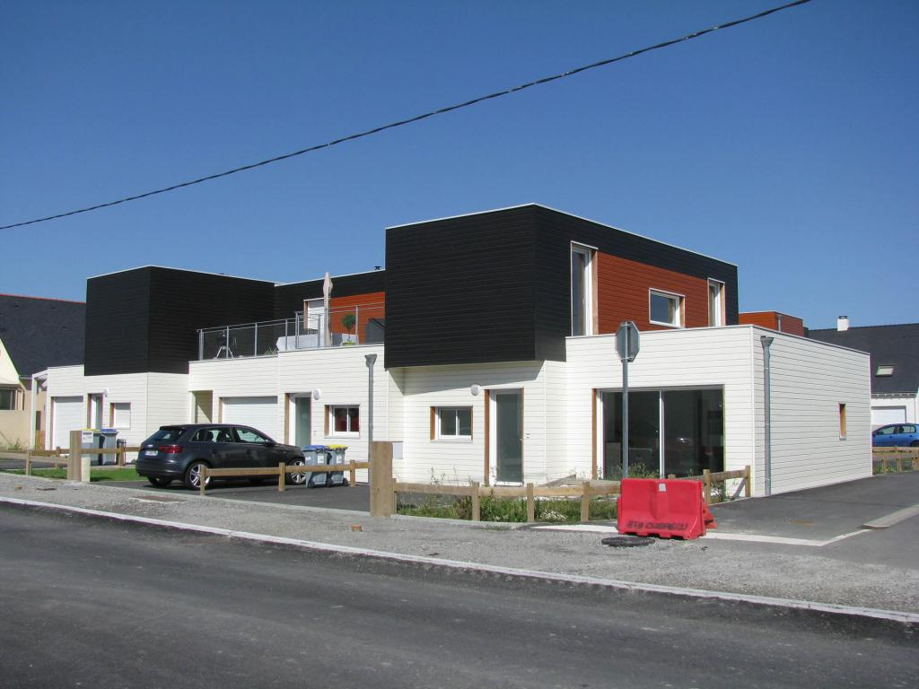 Photo suppl mentaire maison ossature bois construction for Construction maison bois 56