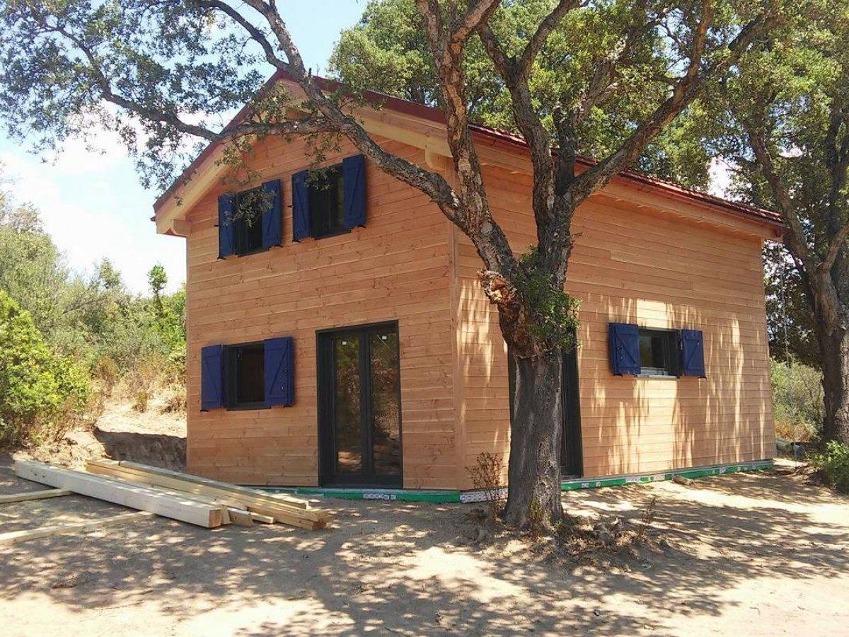 Maison Bois Corse