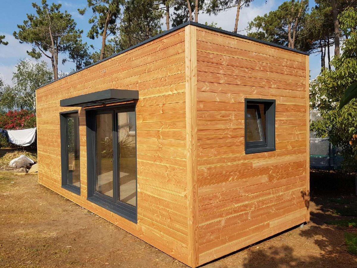 maison de jardin evry en bois en kit sans permis de construire. Black Bedroom Furniture Sets. Home Design Ideas