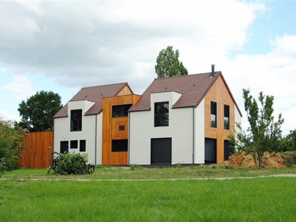 Maison ossature bois 78 for Jardin de 78