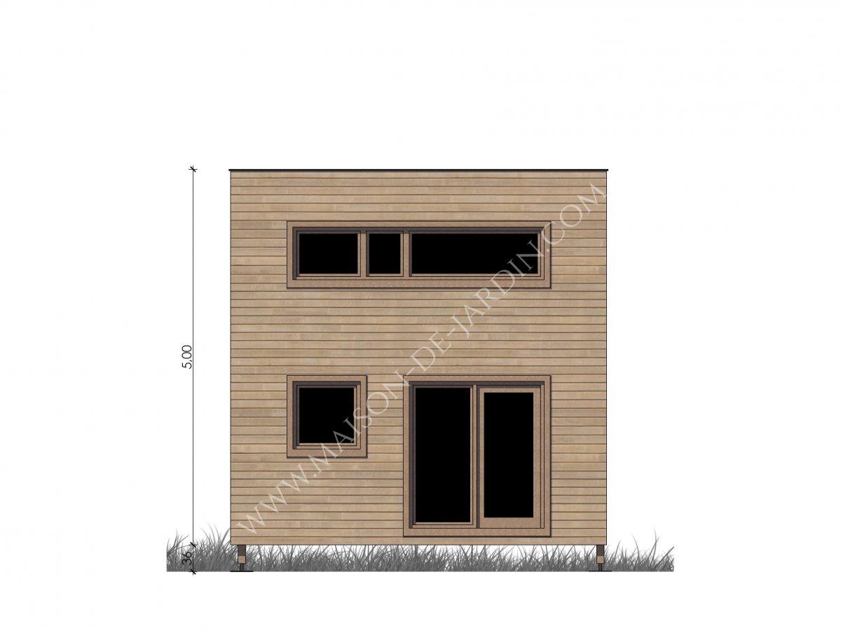 Maison de jardin nice en bois for Jardin nice