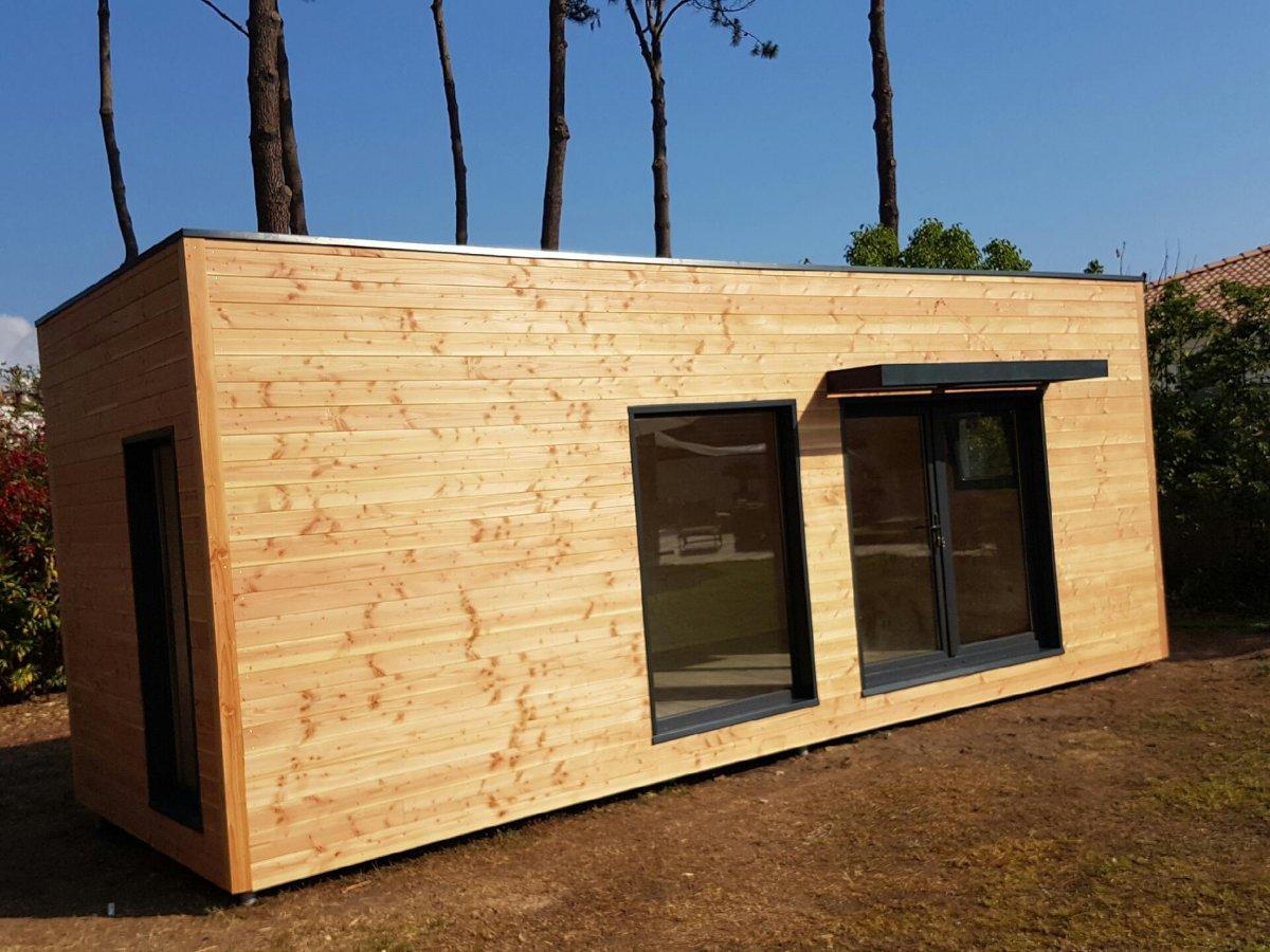 Maison bois corse studio de jardin - Maison bois en corse ...