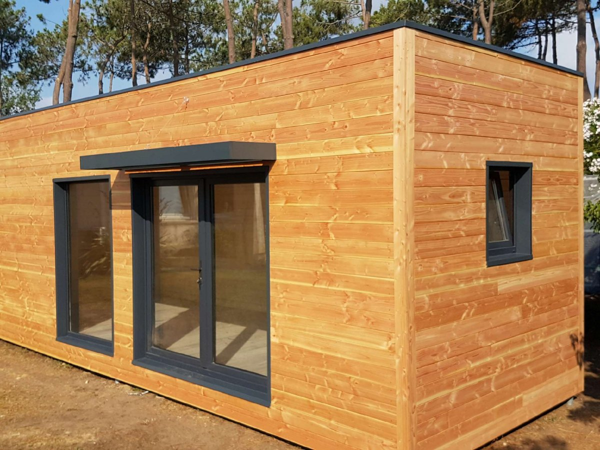 Maison Bois Corse Studio de jardin # Maison En Bois Jardin