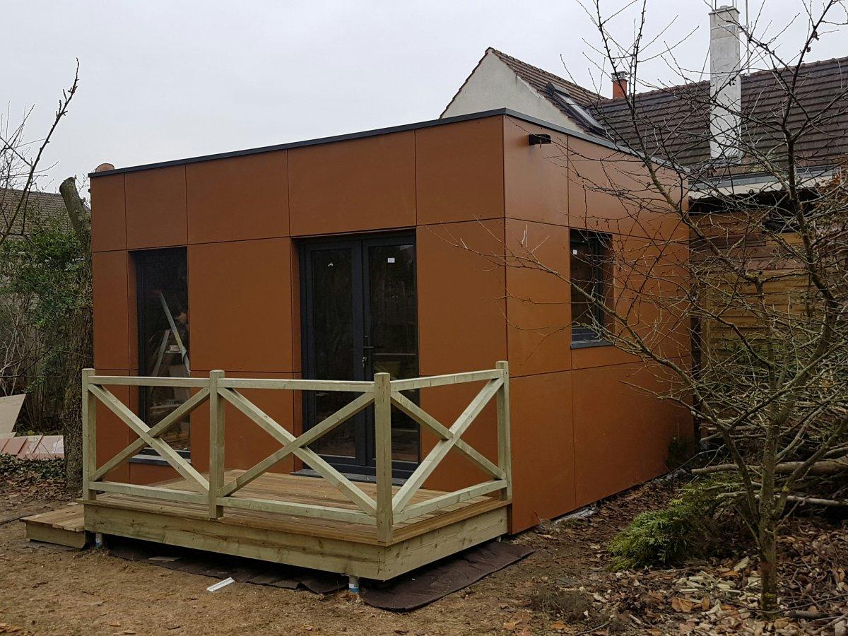 maison bois sans permis paris en ile de france. Black Bedroom Furniture Sets. Home Design Ideas